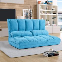 "Trule Catalina 70.86"" Wide Tight Back Futon Chair in Blue, Size 70.86 H x 70.86 W x 45.67 D in   Wayfair E9EE2FFCBFEC46649251ED57ADD39517"