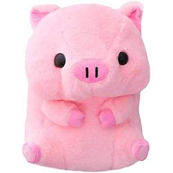 FFXZL 50CM Funny Pillow Plushie Stuffed Cushion Cute Animals Dolls Baby Piggy Kids Appease Pillow Pink Doll Decompression Toys 40cm Lovely Fat Round Pig Plush Toys