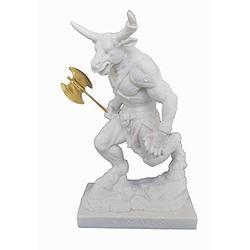 Estia Creations Minotaur Sculpture Mythical Ancient Greek Creature Statue