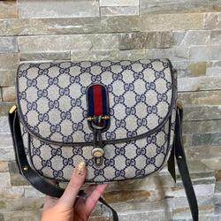Gucci Bags   Gucci Sherryline Sling Bag   Color: Blue/Gold/Red   Size: 8x2x7