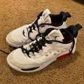 Nike Shoes | Jordan Max 200 Mens Casual Basketball Shoes | Color: White | Size: 12