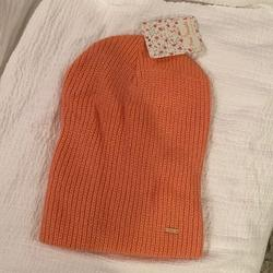 Free People Accessories | Nwt Free People Beanie | Color: Orange/Pink | Size: Os
