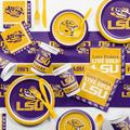 Creative Converting Louisiana State Party Supplies Kit for 8 GuestsPaper/Plastic in Indigo/Yellow   Wayfair DTC4838C2D