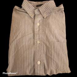 American Eagle Outfitters Shirts | Mens S American Eagle Outfitters Dress Shirt | Color: Blue/White | Size: S