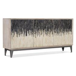 "Hooker Furniture 5936-55469-03 Urban Modern 69"" Wide 3 Door Home Entertainment Media TV Console"