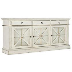 "Hooker Furniture 5865-55482-02 Premier 82"" Wide Cottage Farmhouse Home Entertainment Media TV"