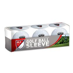 WinCraft D.C. United 3-Pack Golf Ball Sleeve, Multicolor