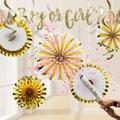 Creative Converting 18 Piece Decoration KitPaper in White/Yellow | Wayfair DTCBBRVLG1A
