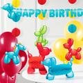 Creative Converting 35 Piece Balloon Animal Decoration KitPaper in Blue/Red/Yellow | Wayfair DTC6159E1A