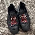 Gucci Shoes   Authentic Men Leather Gucci Loafers   Color: Black   Size: 9.5