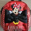 Disney Accessories | Disney'S Minnie Mini Backpack | Color: Black/Red | Size: Osbb