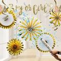 Creative Converting 18 Piece Decoration KitPaper in White/Yellow | Wayfair DTCBBRVLB1A