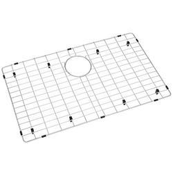 "Zeesink Kitchen Sink Grid,Sink Protectors for Kitchen Sink,Sink Protector Size 27 3/4"" X 16 11/16"",Sink Grate with Rear Drain for Single Bowl Kitchen Sink"