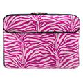 Pink Zebra 13-inch Laptop Sleeve for Samsung Galaxy Book Pro 360, S, Ion 13, Flex 2 1 a Alpha, Galaxy Chromebook 2 1, Notebook Flash, 7 9, 9 Pen 9 Pro 13.3-inch