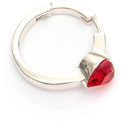 Heart Solitaire Earring Os - Metallic - Ambush Earrings