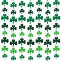Tatuo 100 Pieces St. Patrick's Day Shamrock Decorations Shamrock Hanging Ornaments Clover Banner Shamrock Felt String Garland for St. Patrick's Day Home Party Lucky Irish Party Decoration