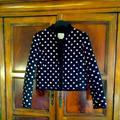 Kate Spade Jackets & Coats | Kate Spade Quilted Silk Jacket | Color: Black/Pink | Size: 2