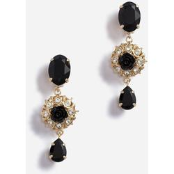 Drop Earrings With Decorative Details - Metallic - Dolce & Gabbana Earrings