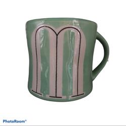 Anthropologie Kitchen   Anthropologie Coffee Tea Mug Cup Mint Green Initia   Color: Blue/White   Size: Os