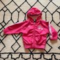 Adidas Jackets & Coats | Baby Girl Adidas Pink Mn Twins Heart Windbreaker | Color: Pink | Size: 18mb