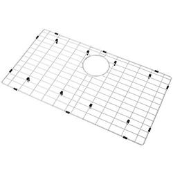"Zeesink Sink Grid and Sink Grate Size 28 3/4"" X 15 3/4"",Kitchen Sink Protector,Sink Bottom Grid Rear Hole,Sink Grid for Single Bowl Kitchen Sink"