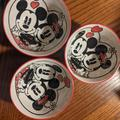 Disney Dining | Disney Mickey And Minnie Small Bowls | Color: Red | Size: Os