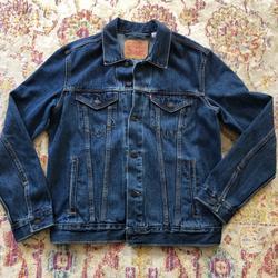 Levi's Jackets & Coats | Mens Levis Denim Jean Jacket Classic Wash | Color: Blue | Size: M