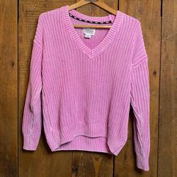 Pink Victoria's Secret Sweaters | Pink Victorias Secret Pink Oversized Sweater | Color: Pink | Size: Xs