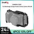 SmallRig – caméra bmpcc 4k Cage DSLR, Blackmagic Pocket 4k/6K, pour appareil de cinéma, BMPCC 4K/6K,