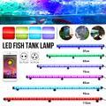 GRB Aquarium lumière LED étanche APP contrôle Aquarium lumière sous-marine poisson lampe Aquariums