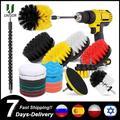 3-37 Pièces/ensemble Perceuse Attachements de Brosse De brosse de nettoyage pour perceuse Carrelage