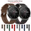 Bracelet officiel en cuir véritable pour HUAWEI WATCH GT2 pro GT2e, pièce de rechange pour montre