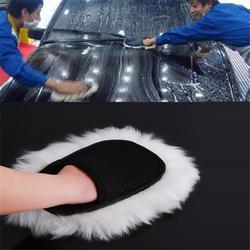 Brosse de nettoyage de voiture, accessoire de nettoyage de véhicule, laine douce, gants de lavage de