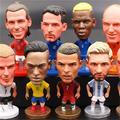 Figurine de joueur de Football Star Messi Ronaldo Neymar, poupées d'action, Fans de Football,