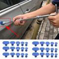 Onglets d'extraction de carrosserie de porte de voiture, outil de débosselage sans peinture,