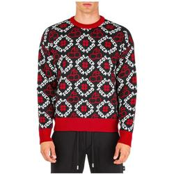 Men's Crew Neck Neckline Jumper Sweater Pullover - Black - Gcds Knitwear