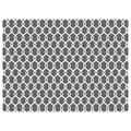 Bungalow Flooring Chain Link 9 to 5 Desk Chair Mat - 35'' x 47'', Grey, 3X4 Ft
