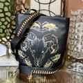 Coach Bags | Coach Tattoo Sling Bag Chelsea | Color: Black/Gold | Size: Large