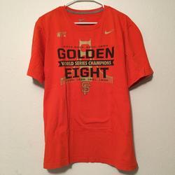 Nike Shirts   Nike Mlb San Francisco Golden Eight Mens T-Shirt   Color: Orange   Size: Xl
