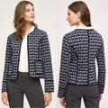 Anthropologie Jackets & Coats | Anthropologie Hei Hei Vala Quilted Jacket Size Xs | Color: Black/Blue | Size: Xs