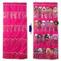 Helimwint Hanging Over Door Toy Storage Organizer with 24 Clear View Pockets, Ideal for Lol Omg Dolls Barbie Dolls Surprise Doll, Cars and More Collectibles's Storage, Best Gift for Girls