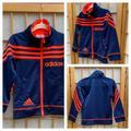 Adidas Jackets & Coats | Adidas Activewear Jacket Sz 2t | Color: Blue/Orange/Red | Size: 2tb