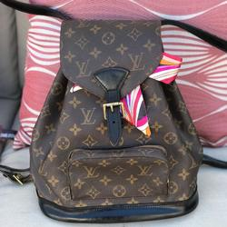 Louis Vuitton Bags   Lv Montsouris Mm Backpack   Color: Black/Red   Size: Os