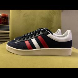 Adidas Shoes | Adidas Americana Low Top Mens Casual Shoes Size 10 | Color: Blue/Red | Size: 10
