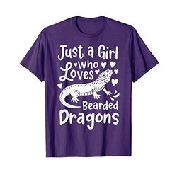 Bearded Dragon Just a Girl Who Loves Bearded Dragons T-Shirt