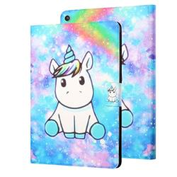 """APOLL Case for Kindle Paperwhite 4 (10th Gen 2018) & Paperwhite 1/2/3, Magnet Buckle Shock-Absorbing Auto Sleep Wake Soft TPU Back Cover Case for Amazon Kindle Paperwhite 6"""" E-Reader, Rainbow Unicorn"""