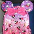 Disney Accessories | Disney Minnie Mouse Mini Backpack | Color: Pink/Purple | Size: Osg