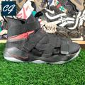 Nike Shoes | Nike Lebron Soldier 11 Flyease Basketball Shoes | Color: Black/Red | Size: 14