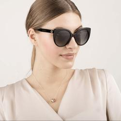 Gucci Accessories | New Sunglasses Gucci Gg0325s 008 Cat Eye Eyewear | Color: Blue/Gray | Size: Os