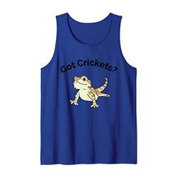 Bearded Dragon Got Crickets Bearded Dragon Accessory T Shirt Tank Top
